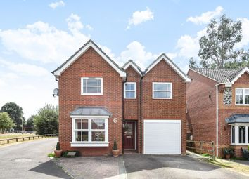 Thumbnail 4 bed detached house for sale in Howell Close, Arborfield