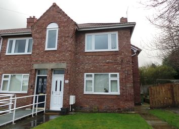 Thumbnail 3 bed flat for sale in Poplar Crescent, Dunston, Gateshead