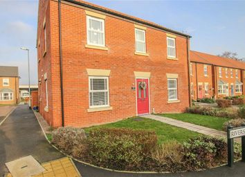 Thumbnail 2 bed flat for sale in Riverside, Market Rasen, Lincolnshire