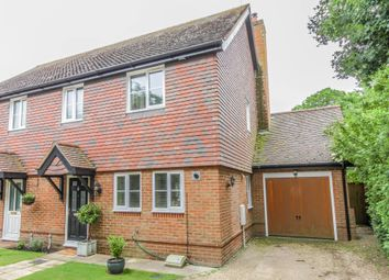 Thumbnail 3 bed semi-detached house for sale in Kings Somborne, Stockbridge, Hampshire