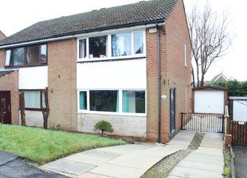 Thumbnail 3 bed semi-detached house for sale in Abbey Drive, Smithybridge, Littleborough