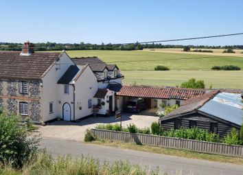 Thumbnail 4 bed cottage for sale in Poy Street Green, Rattlesden, Bury St. Edmunds