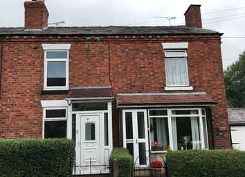 Thumbnail 2 bedroom terraced house to rent in New Street, Haslington, Crewe