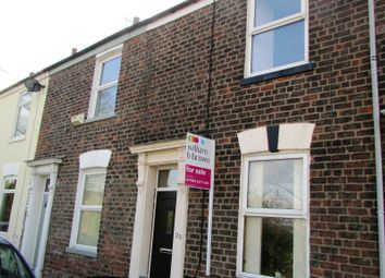Thumbnail 2 bed terraced house for sale in Railway Terrace, York