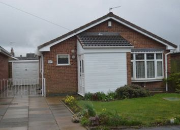 Thumbnail 2 bed bungalow for sale in Roston Drive, Hinckley