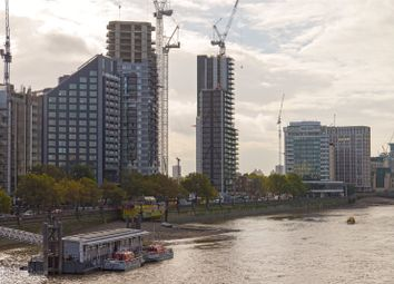 Thumbnail 1 bed flat for sale in Corniche, Tower One, 20-21 Albert Embankment, London
