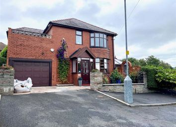 Thumbnail 4 bed detached house for sale in Dale View, Denton, Manchester