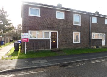 Thumbnail 3 bedroom semi-detached house for sale in Eyre Close, Bury St. Edmunds