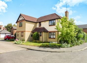 Thumbnail 4 bedroom detached house for sale in Brampton Close, Wisbech