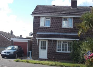 Thumbnail 3 bed semi-detached house to rent in Probus, St Austell, Cornwall