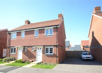 Thumbnail 2 bedroom semi-detached house for sale in Tabby Drive, Three Mile Cross, Reading
