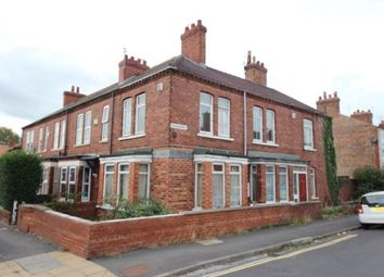 Thumbnail 3 bed end terrace house for sale in Cromer Street, York, North Yorkshire, England