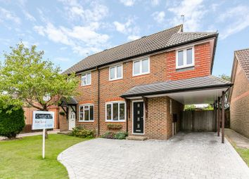 Thumbnail 4 bed semi-detached house for sale in Heather Walk, Smallfield, Horley