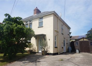 Thumbnail 3 bed semi-detached house for sale in Colwell Lane, Freshwater