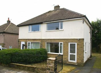 Thumbnail 2 bed semi-detached house to rent in Gleanings Avenue, Norton Tower, Halifax