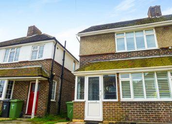 Thumbnail 3 bedroom semi-detached house for sale in Cliffe Avenue, Hamble, Southampton