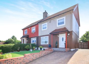 Thumbnail 3 bed semi-detached house for sale in Eastburn Road, Balornock, Glasgow