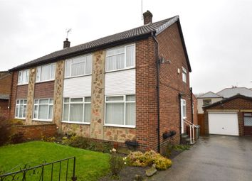 Thumbnail 3 bed semi-detached house for sale in Meadow Park Drive, Stanningley, Pudsey, West Yorkshire