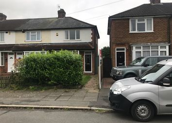 Thumbnail 2 bedroom end terrace house to rent in Chesford Road, Stopsley, Luton