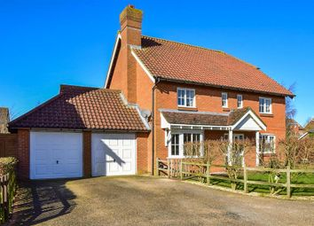 Thumbnail 4 bed detached house for sale in Plover Road, Hawkinge, Folkestone, Kent
