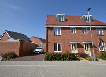 Thumbnail 4 bed semi-detached house to rent in Carew Court, Kingsmead, Milton Keynes, Buckinghamshire