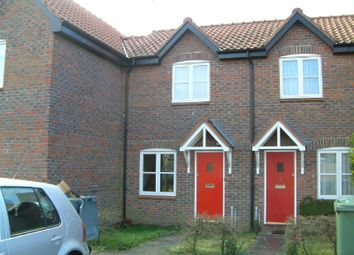 Thumbnail 2 bed terraced house to rent in Springfield, Acle, Norwich