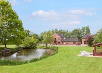 Thumbnail 6 bedroom detached house for sale in Mill Road, Foxley, Dereham