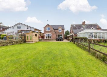 Thumbnail 3 bed detached house for sale in Woodside Lane, Leek, Staffordshire