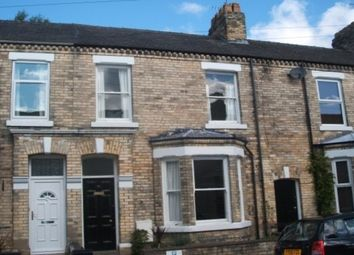 Thumbnail 4 bed town house to rent in St. Olaves Road, Bootham, York