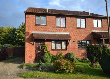 Thumbnail 3 bed semi-detached house for sale in Simonsbath, Furzton, Milton Keynes, Buckinghamshire