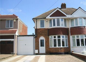Thumbnail 2 bed semi-detached house to rent in Elizabeth Road, Sutton Coldfield, West Midlands