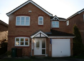 Thumbnail 4 bed detached house to rent in Sorrel Drive, Woodville, Swadlincote