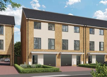 Thumbnail 4 bedroom town house for sale in Thorpe Road, Longthorpe, Peterborough
