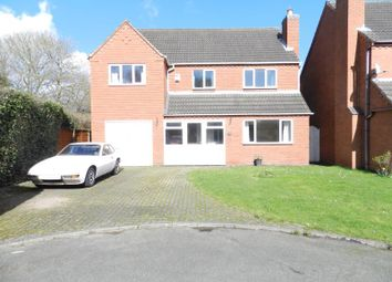 Thumbnail 6 bed detached house for sale in Telmah Close, Stretton, Burton On Trent