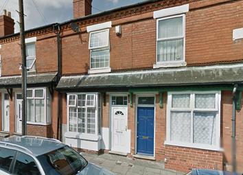 Thumbnail 3 bedroom terraced house for sale in Clifton Road, Balsall Heath, Birmingham