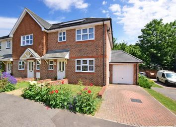 Thumbnail 3 bed end terrace house for sale in All Angels Close, Maidstone, Kent