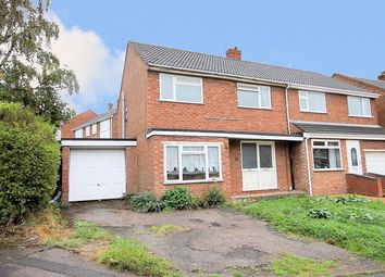 Thumbnail 3 bed semi-detached house for sale in Belmont Road, Wilnecote, Tamworth