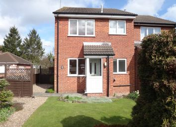 Thumbnail 1 bed end terrace house to rent in Eastfield Drive, Thurmaston, Leicester
