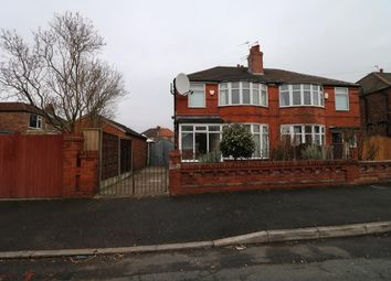 Thumbnail 3 bed semi-detached house for sale in Hartswood Road, Manchester