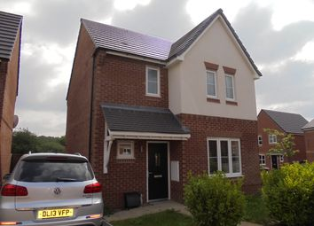 Thumbnail 3 bed detached house to rent in Sandiacre Avenue, Brindley Village, Stoke On Trent, Staffordshire