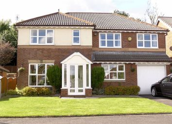 Thumbnail 4 bed detached house for sale in Embsay Close, Belmont Park, Bolton