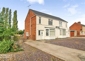 Thumbnail 2 bed semi-detached house for sale in Scotter Road, Scunthorpe, Lincolnshire