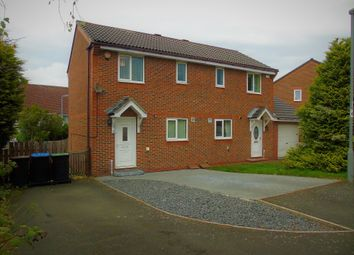 Thumbnail 2 bed semi-detached house for sale in Iris Crescent, Ouston, Chester Le Street