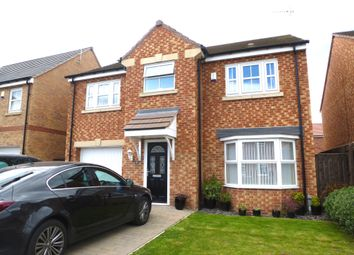 Thumbnail 4 bed detached house for sale in Tulip Close, Hartlepool