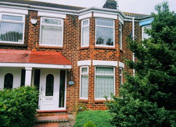 Thumbnail 3 bedroom terraced house for sale in Sutton Road, Sutton-On-Hull, Hull