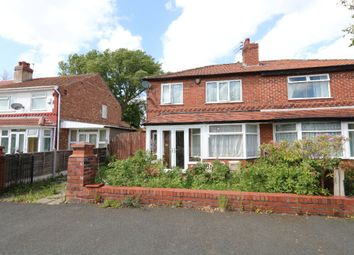Thumbnail 3 bed semi-detached house to rent in Manley Road, Chorlton Cum Hardy, Manchester