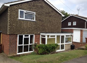 Thumbnail 3 bedroom detached house to rent in Hallwood Close, Rainham, Gillingham