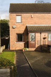 Thumbnail 2 bed end terrace house for sale in Bellsfield, Longtown, Carlisle, Cumbria