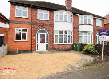 Thumbnail 4 bed semi-detached house for sale in Francis Avenue, Braunstone Town, Leicester