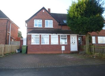 Thumbnail 4 bed semi-detached house to rent in Moat Lane, Solihull